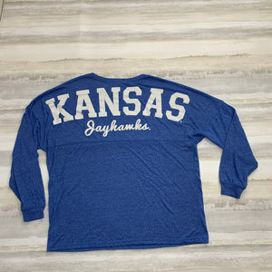 Kansas Jayhawks Size Medium Long Sleeve top